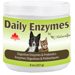 Naturalpaw Daily Enzymes digestive supplement for pets